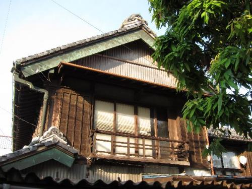 幸手の古民家の2階
