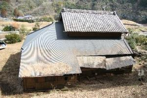 古民家屋根