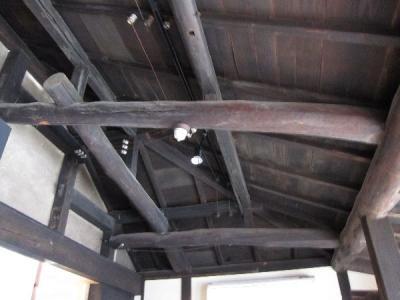 岸本家住宅店舗部分天井
