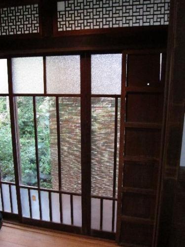岸本家住宅窓