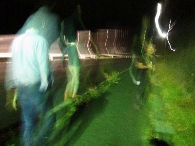 ナイトハイク夜の散歩