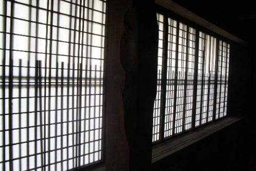 2階組子窓