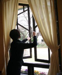 自由学園窓