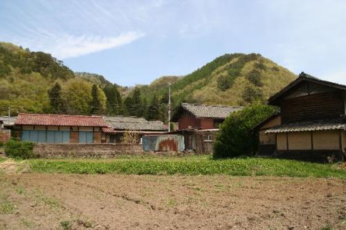 信州の民家風景
