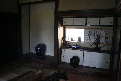 古民家床の間