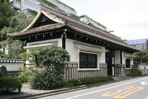 日本民藝館西館長屋門