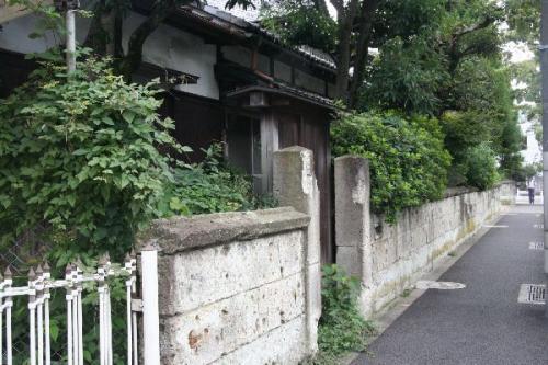 日本民藝館大谷石石垣