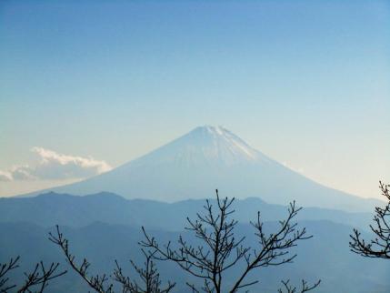 金ヶ岳からの富士山