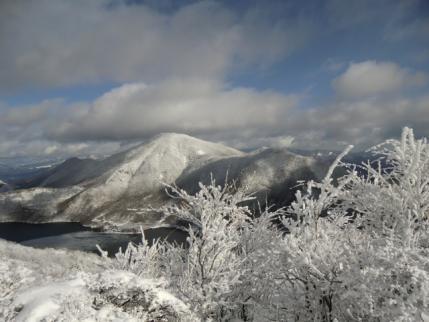 地蔵岳から黒檜山と駒ヶ岳
