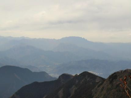 展望地から両紙山