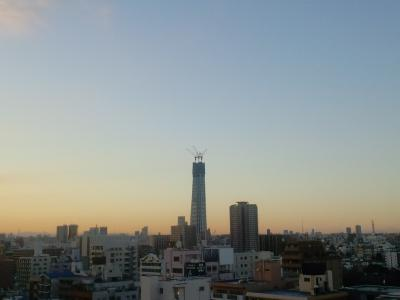100116東京スカイツリー