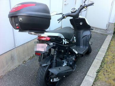 見たことのないバイク 001