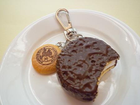 チョコパイキーホルダー