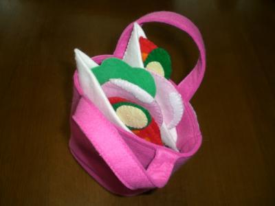サンドイッチ バッグ 【フエルトのおもちゃ】