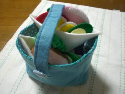 サンドイッチセット バッグ付き 【フエルト】
