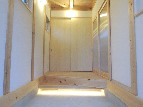 玄関間接照明