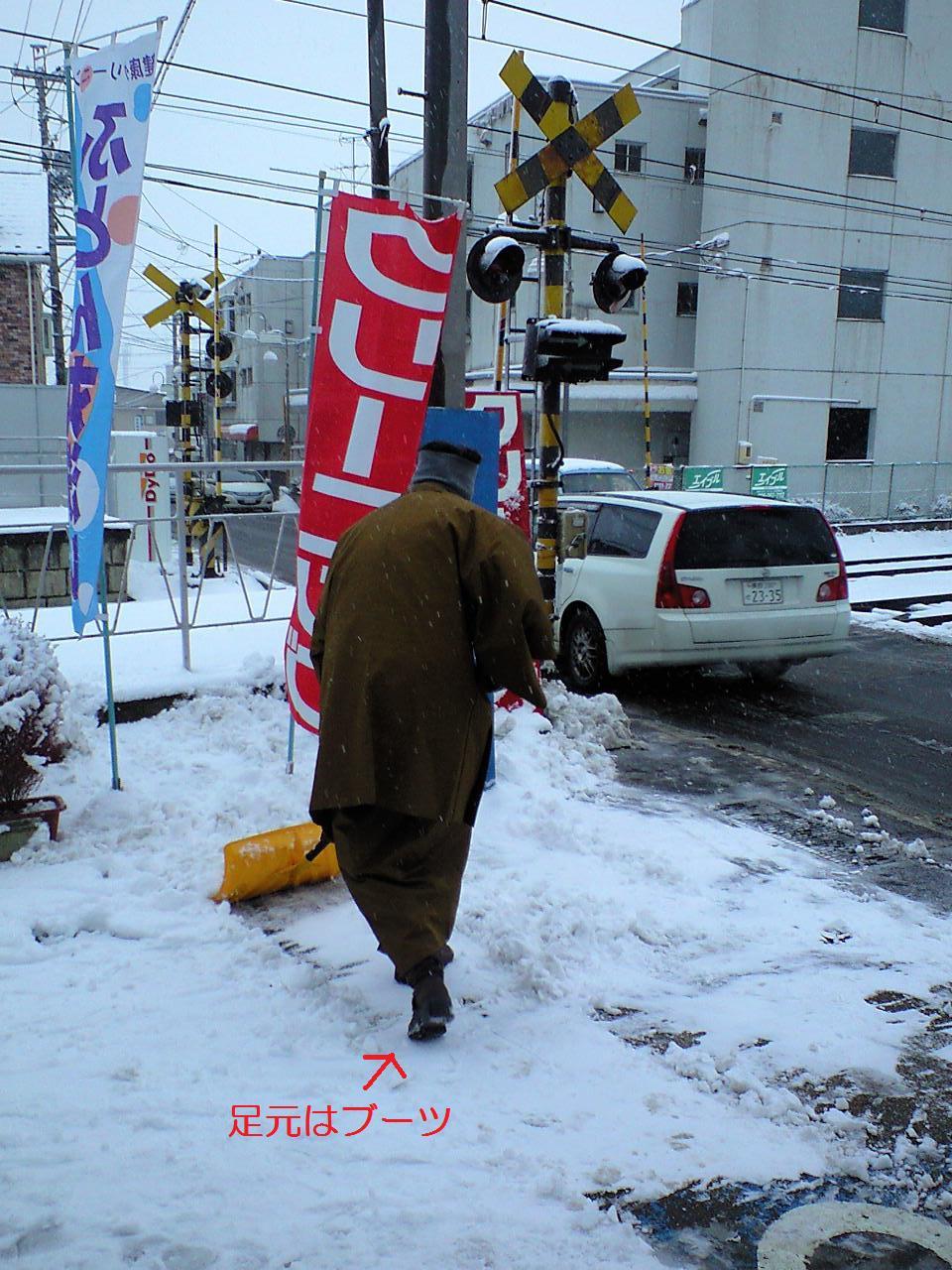 雪降りの朝 (9) - コピー
