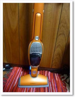 充電式掃除機20100822