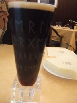 銀座で黒ビール