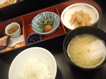 ナショナルリゾートの朝ご飯