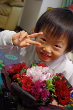 お花ありがとうございました