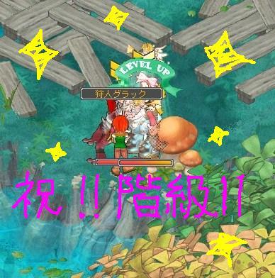 階級11ktkr!(*´ω`*)