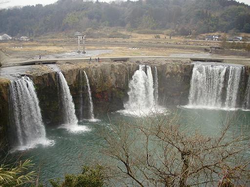 原尻の滝①