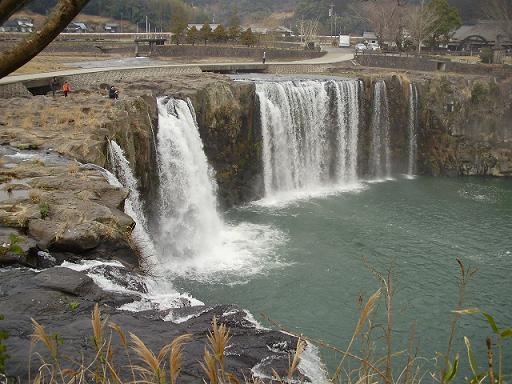 原尻の滝②