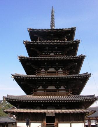 法隆寺「五重塔」