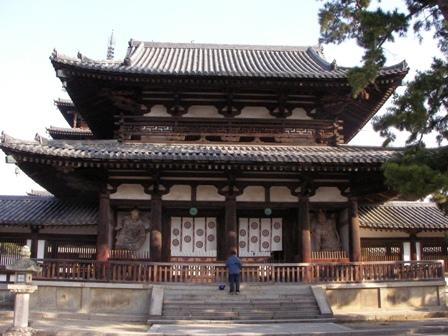 法隆寺 中門