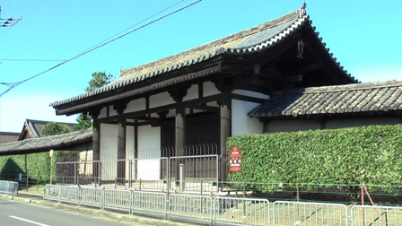 東寺 蓮華門
