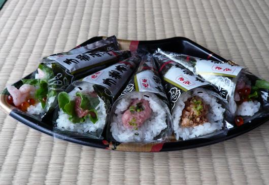 寿司差し入れ