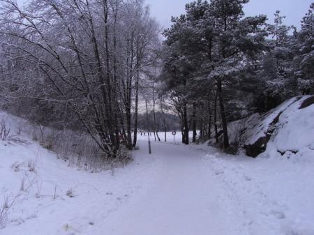 ヨーテボリ雪景色01
