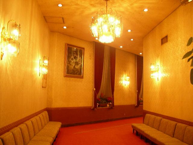 東京STホテル 廊下