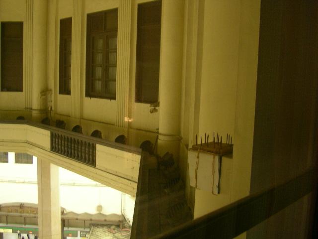 東京STホテルから見たドーム
