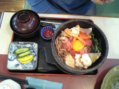 『石焼海鮮丼』