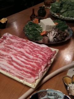 旬彩酒肴遊心 「かど家」八鹿豚しゃぶしゃぶ鍋