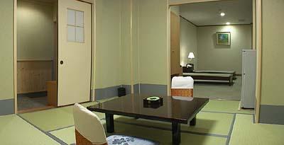 和洋室 「バリアフリー客室」です。