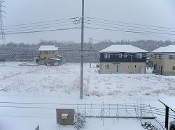 2010年雪景色で幕開け