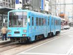 福井駅前駅に停車中の770形771
