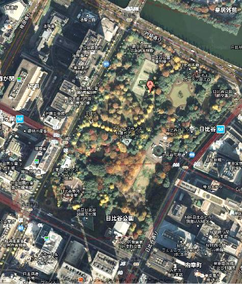 東京都千代田区日比谷公園 日比谷公園 - Google マップ0001