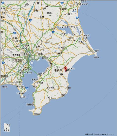 千葉県茂原市千沢- Google マップ-0220001-2