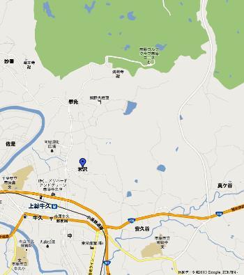 千葉県茂原市 - Google マップ米沢0001-2