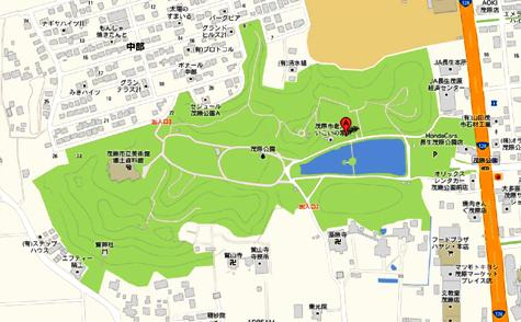 千葉県茂原市高師 茂原公園 - Google マップ-40001-2