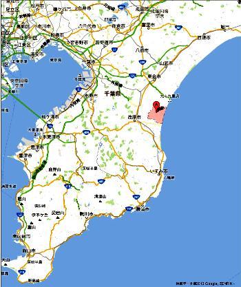千葉県長生郡白子町 - Google マップ0001-2
