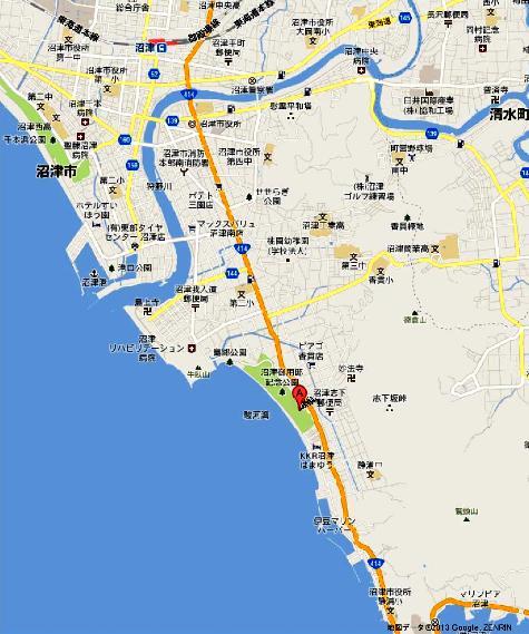 沼津御用邸記念公園 - Google マップ0001