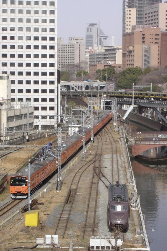 201系 EF55 1 万世橋展示