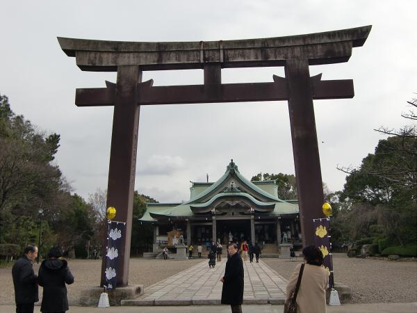 豊国神社で元日初詣04