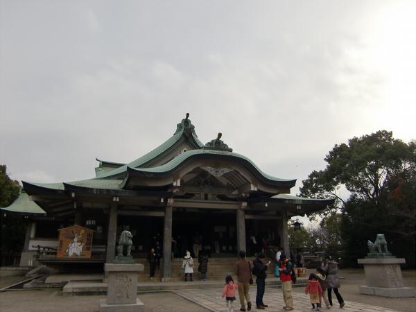 豊国神社で元日初詣05