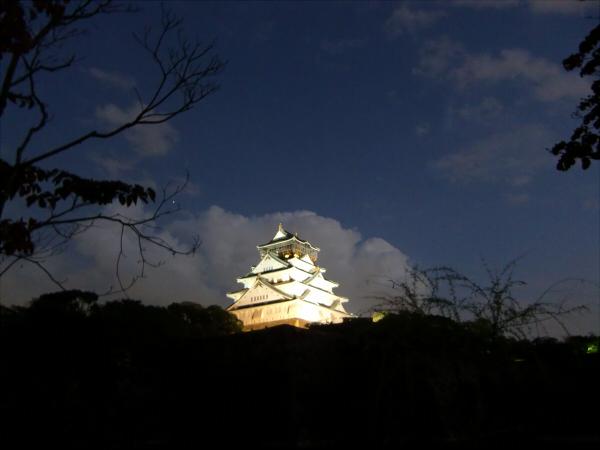 大阪城夜とか1